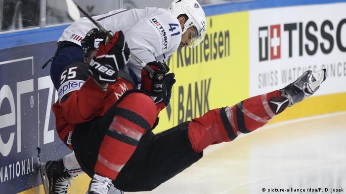 Eishockey-WM: Kanada - Frankreich (picture-alliance /dpa/P. D. Josek)