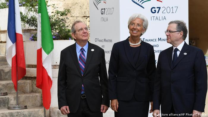 G7 finance summit (picture alliance/AP Photo/C.Fusco)