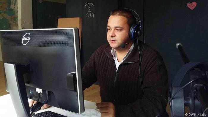 Serbien O Radio Rundfunk aus Novi Sad