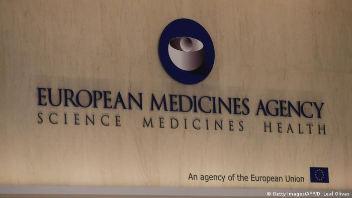 The logo of the European Medicines Agency
