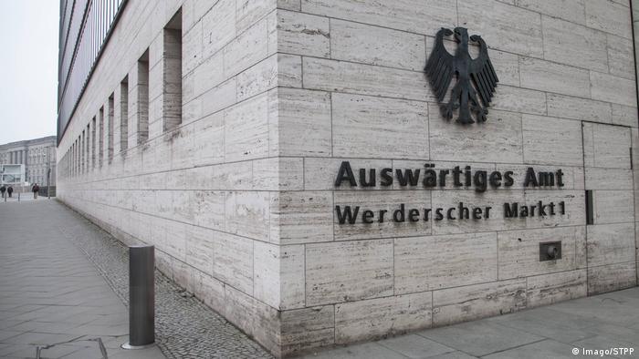 Deutschland Berlin Auswärtiges Amt (Imago/STPP)