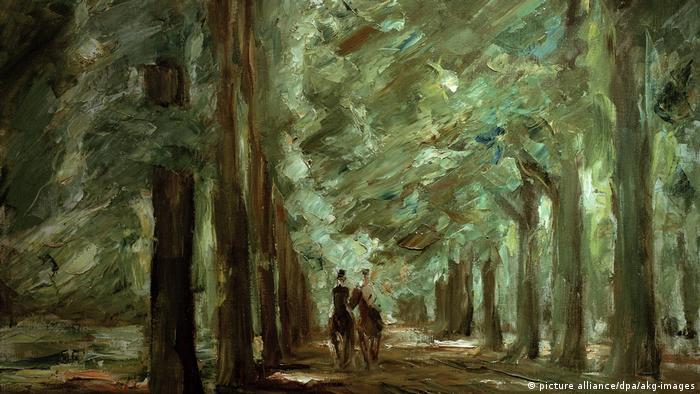 Закровский парк в Потсдаме. Картина Макса Либермана
