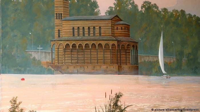 Закровский храм во времена ГДР