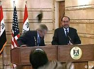 Бързата реакция на Буш