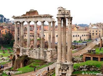 Величественные руины Древнего Рима