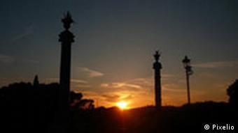 Sonnenuntergang in Rom(Foto: pixelio.de)
