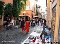 El barrio de Trastevere, en Roma, hoy en día.