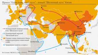 Ο νέος δρόμος θα ενώνει την Ασία με την Αφρική και την Ευρώπη