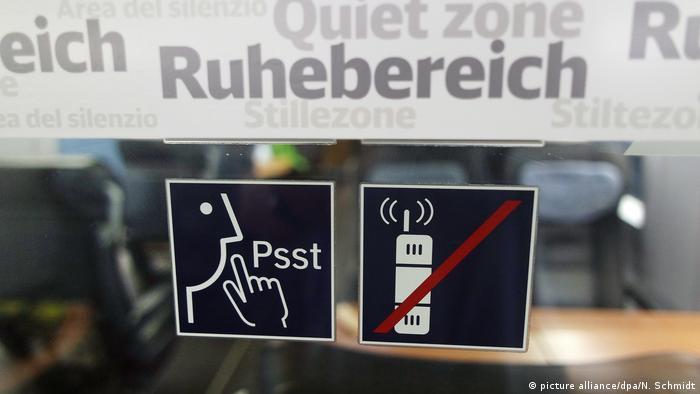 Ruhebereich in einem Zug (picture alliance/dpa/N. Schmidt)