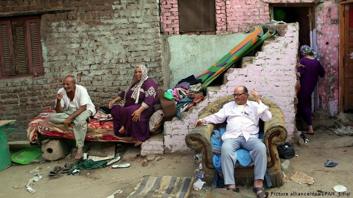 Ägypten Slum von Ramlet Bulaq in Kairo (Picture alliance/dpa/EPA/K. Elfiqi)
