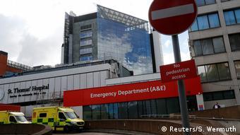 Großbritannien London Krankenhäuser (Reuters/S. Wermuth)