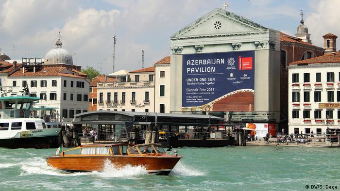 Azeri Pavilion in Venice (DW/S. Dege)