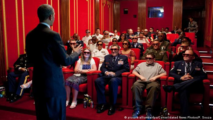 USA Kino im Weißen Haus in Washington (picture-alliance/dpa/Consolidated News Photos/P. Souza)