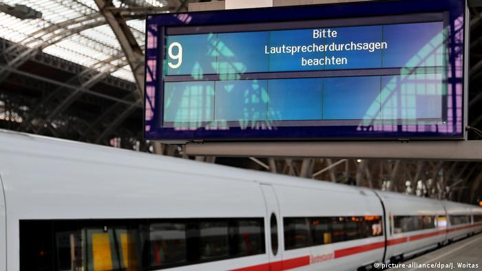 Cyber-Attacke Deutsche Bahn