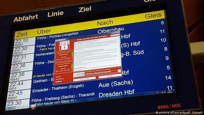 На 12 май 2017 десетки хиляди компютри в 74 държави станаха жертва на небивала по мащабите си компютърна атака. Вирусът WannaCry блокира компютрите, а хакерите поискаха откуп в биткойни по 300 долара на компютър, за да вдигнат блокадата. Най-засегнати бяха медицински институции във Великобритания, германските железници, компютрите на руското МвнР, а също така Испания, Индия и други страни.