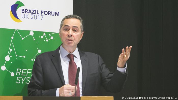 Großbritannien Brazil Forum in London | Luis Roberto Barroso (Divulgação Brazil Forum/Cynthia Vanzella)
