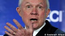 USA Justizminister Jeff Sessions