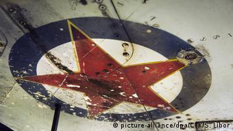Ostaci MiG-21 JNA-a srušenog u Domovinskom ratu