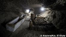 Ägypten Entdeckung neuer Mumien in Minya