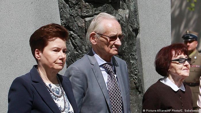 Polen Hanna Gronkiewicz-Waltz, Andrzej Pilecki, Zofia Pilecka-Obtulowicz