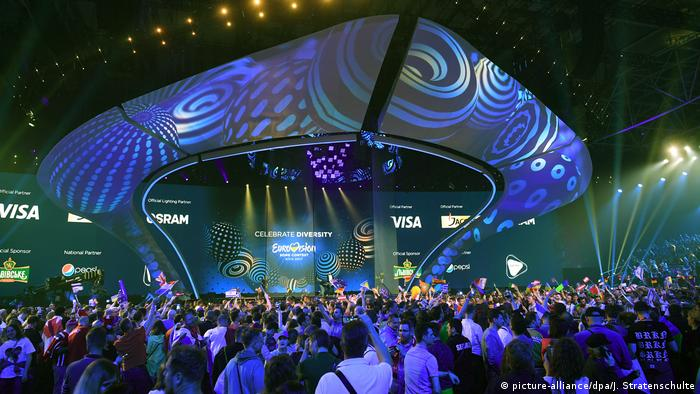 Ukraine Eurovision Song Contest in Kiew (picture-alliance/dpa/J. Stratenschulte)