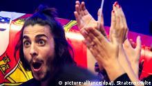 Ukraine Eurovision Song Contest in Kiew - Salvador Sobral