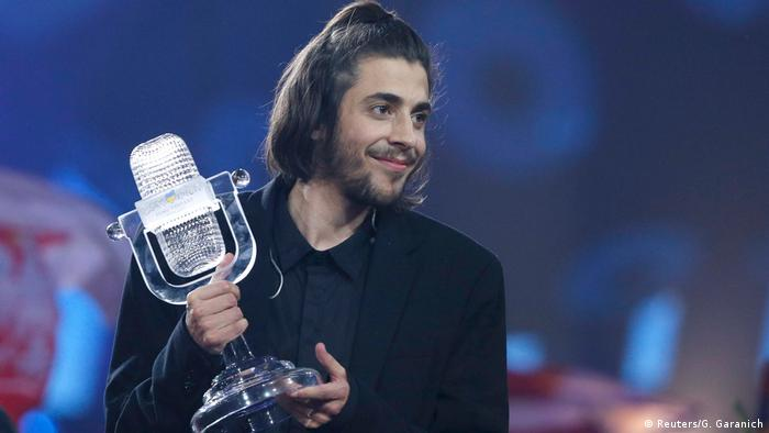 Ukraine Eurovision Song Contest in Kiew - Salvador Sobral (Reuters/G. Garanich)