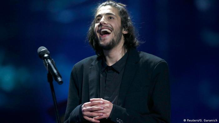 Ukraine Eurovision Song Contest in Kiew - Salvador Sobral (Reuters/G. Garanich)