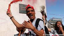 Tunesien Proteste in Tunis