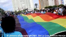 Kuba Demonstration für LGBT-Rechte in Havanna