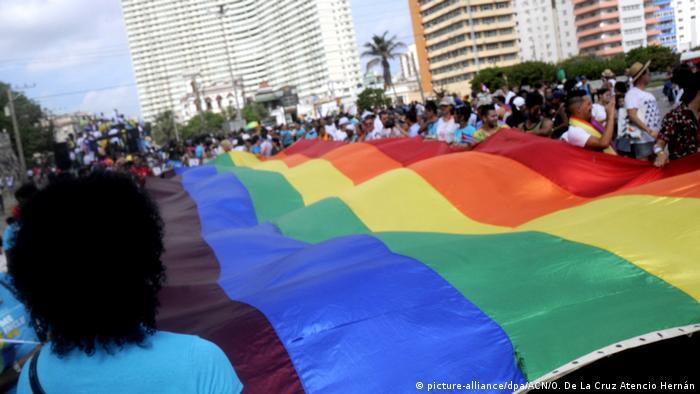 Kuba Demonstration für LGBT-Rechte in Havanna (picture-alliance/dpa/ACN/O. De La Cruz Atencio Hernán)