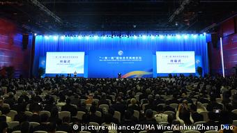 China Belt and Road Forum in Peking (picture-alliance/ZUMA Wire/Xinhua/Zhang Duo)
