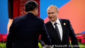China Belt and Road Forum in Peking - Xi Jinping und Vladimir Putin