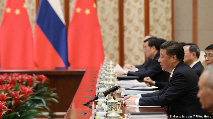 China Peking Treffen mit Russland (Getty Images/AFP/W. Hong)