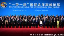 China Belt and Road Forum in Peking - Gruppenfoto