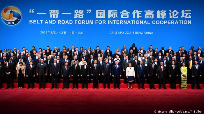 China Belt and Road Forum in Peking - Gruppenfoto (picture-alliance/abaca/Y. Bulbul)