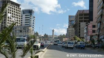 Äthiopien - Addis Abeba - City Churchill Road