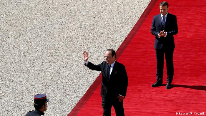 Frankreich Paris Amtseinführung Emmanuel Macron (Reuters/P. Kovarik)