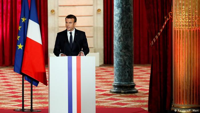 Frankreich Paris Amtseinführung Emmanuel Macron (Reuters/F. Mori)