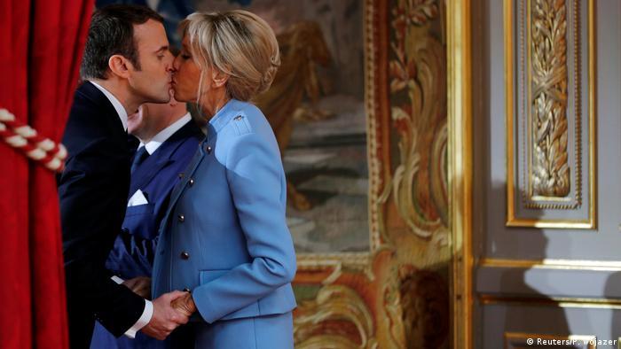 Frankreich Paris Amtseinführung Emmanuel Macron (Reuters/P. Wojazer)