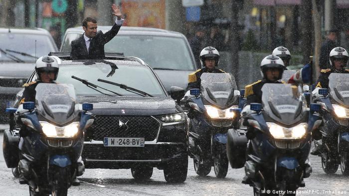 Frankreich Paris Amtseinführung Emmanuel Macron (Getty Images/AFP/C. Triballeau)
