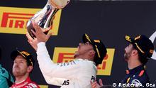 Spanien Formel 1 Grand Prix Sieger Hamilton
