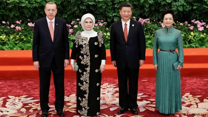 China Peking - Türkischer Präsident Recep Tayyip Erdogan und Chinas Präsident Xi Jinping (Reuters/J. Lee)