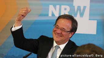 Ο μεγάλος νικητής των εκλογών Άρμιν Λάσετ