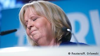 NEU Düsseldorf Hannelore Kraft nach Landtagswahl (Reuters/R. Orlowski)
