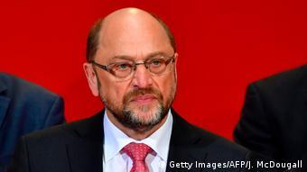 Berlin SPD-Chef Martin Schulz nach NRW Landtagswahl