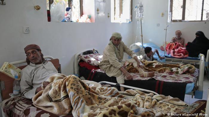 Jemen Cholera Notstandaufhanme (Picture alliance/AP Photo)