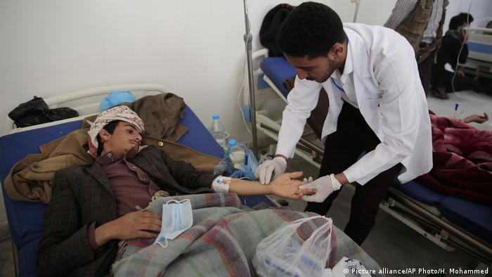 Jemen Cholera Notstandaufhanme (Picture alliance/AP Photo/H. Mohammed)