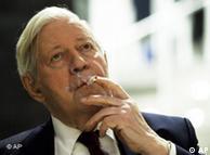 Former German Chancellor Helmut Schmidt