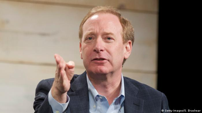 Microsoft-Manager Brad Smith (Foto: Getty Images/S. Brashear)